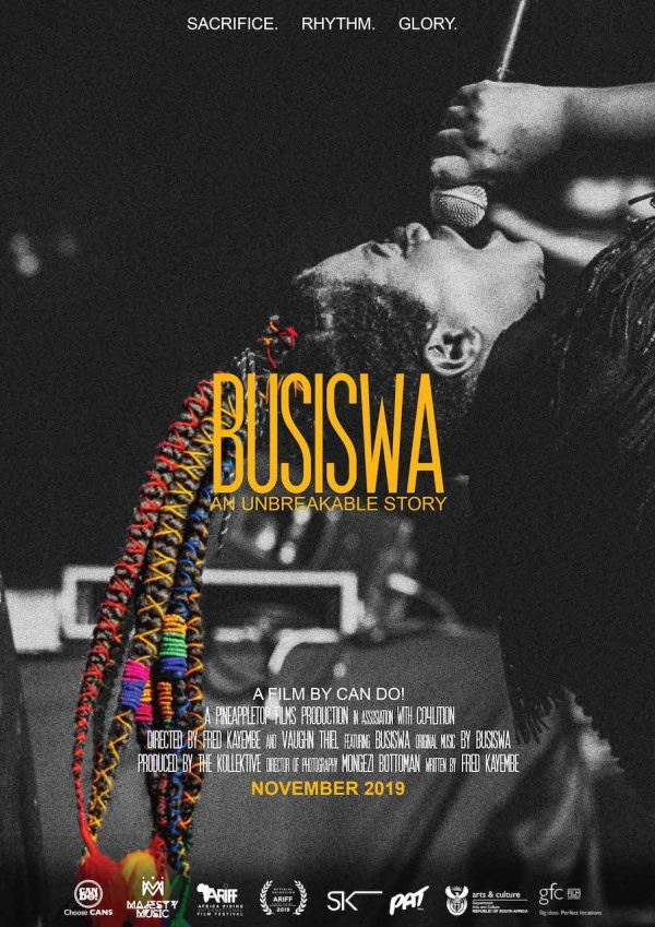 BUSISWA'S DOCUMENTARY TO DEBUT AT  AFRICA RISING INTERNATIONAL FILM FESTIVAL NEXT WEEK