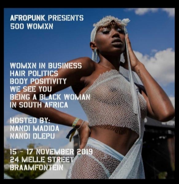 Afropunk presents 500 Womxn