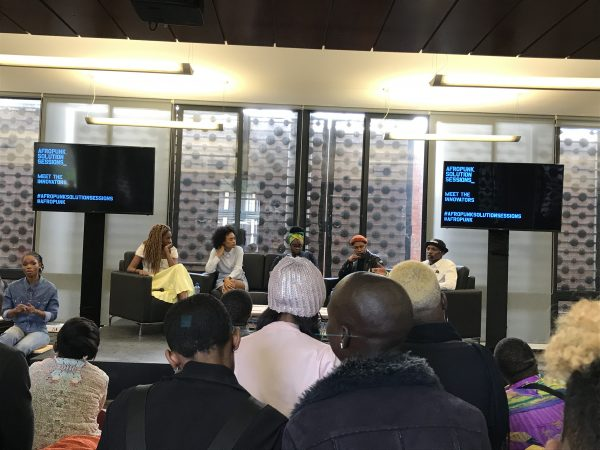 Afropunk hosts panel discussions before it's actual annual event.