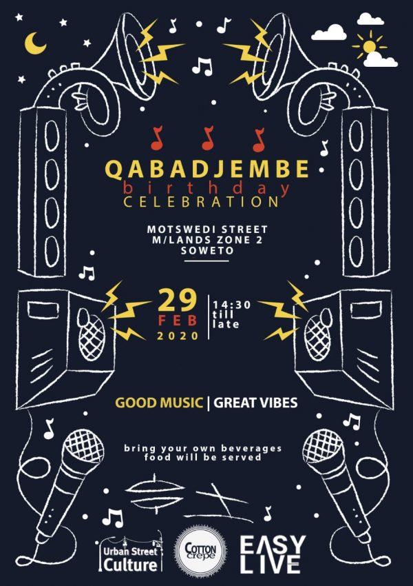 Easy live sessions presents XabaDjembes birthdays celebration