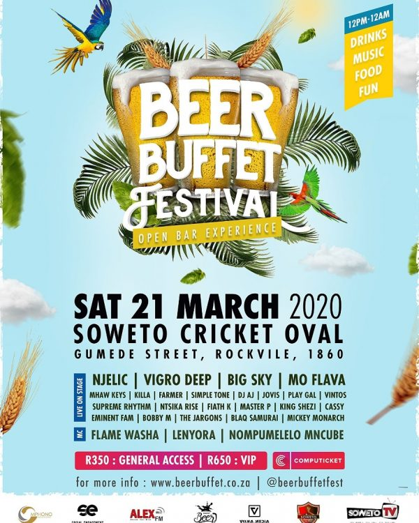 SECOND ANNUAL BEER BUFFET FESTIVAL.