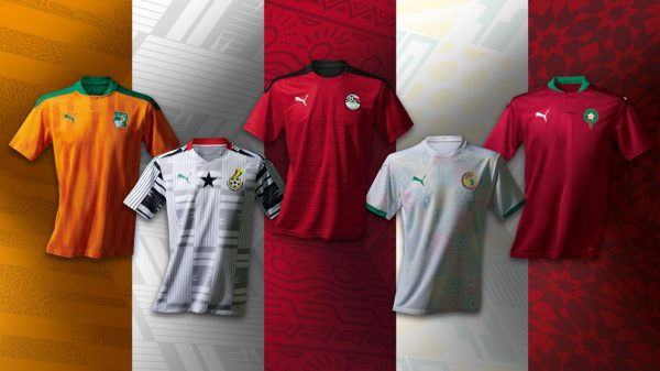 PUMA UNVEILS THE NEW AFRICAN NATIONS HOME AND AWAY KITS – CRAFTED FROM CULTURE