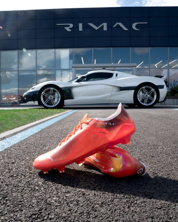 PUMA AND HYPERCAR MAKER RIMAC CREATE THE WORLD'S FASTEST FOOTBALL BOOT