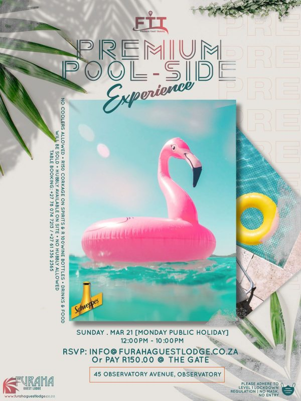 THE PREMIUM POOL SIDE EXPERIENCE