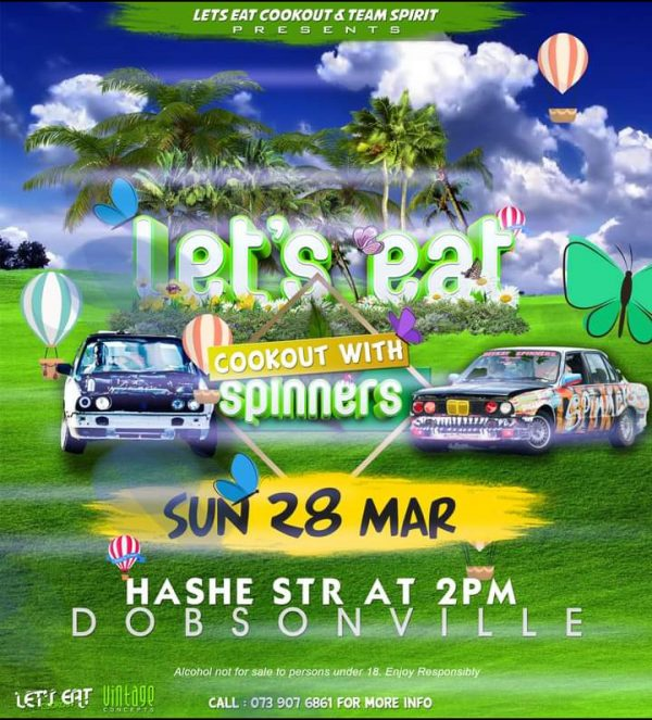 LETS EAT COOKOUT x TEAM SPIRIT PRESENTS COOKOUT WITH SPINNERS