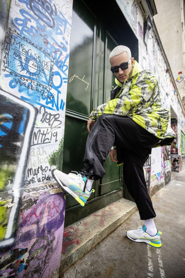 DJ SNAKE'S FAVOURITE PUMA SHOE DROPS IN A BRIGHT NEW COLOURWAY