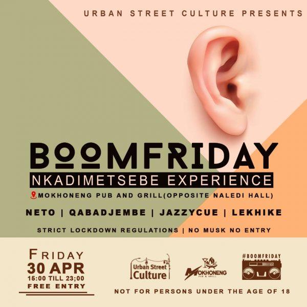 BoomFriday Nkadimetsebe Experience